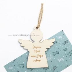 Décoration pour sapin en forme d'ange de Noël à personnaliser - ma creation perso