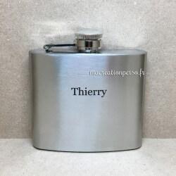 Flasque personnalisée en inox