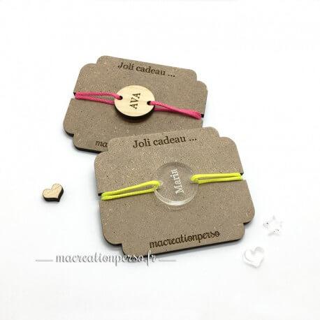 Bracelet bijoux personnalisé pour enfant