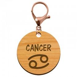 Porte-clé personnalisé signe astrologique Cancer - macreationperso