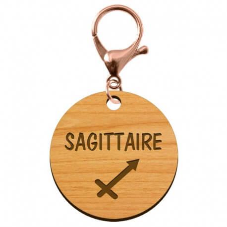 Porte-clé personnalisé signe astrologique Sagittaire - macreationperso