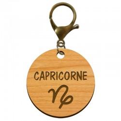 Porte-clé personnalisé signe astrologique Capricorne - macreationperso