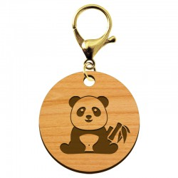 Porte-clé à personnaliser PANDA - macreationperso