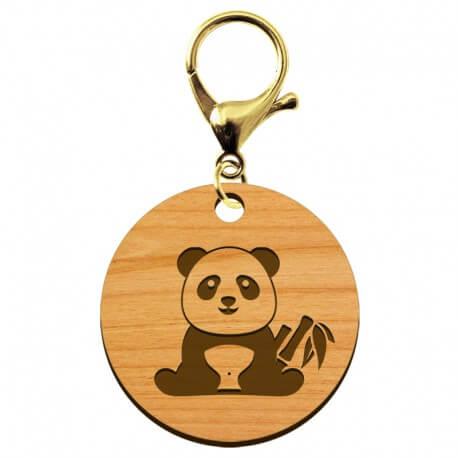 Porte-clé à personnaliser PANDA - macreationperso