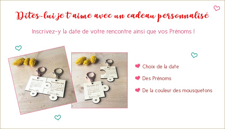 ♥ Découvrez nos idées cadeaux de Saint-Valentin ♥